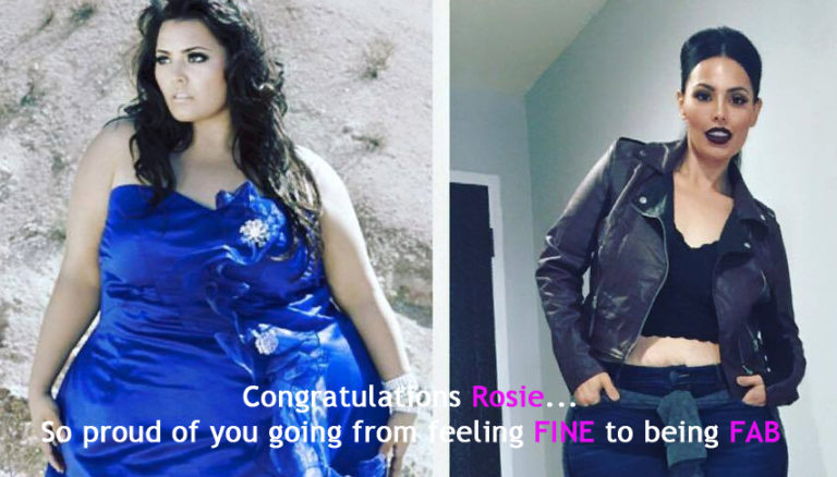 Stop Emotional Eating go from FINE to FAB (Rosie Mercado)