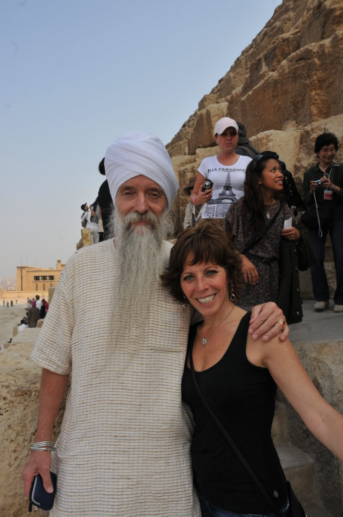 Guru Singh & Lisa Lieberman-Wang in Egypt