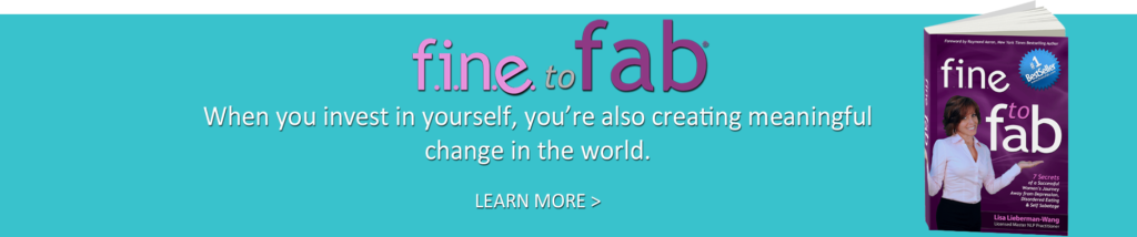 FINE to FAB – Treatment for Depression, Disordered Eating & Self-Sabotage