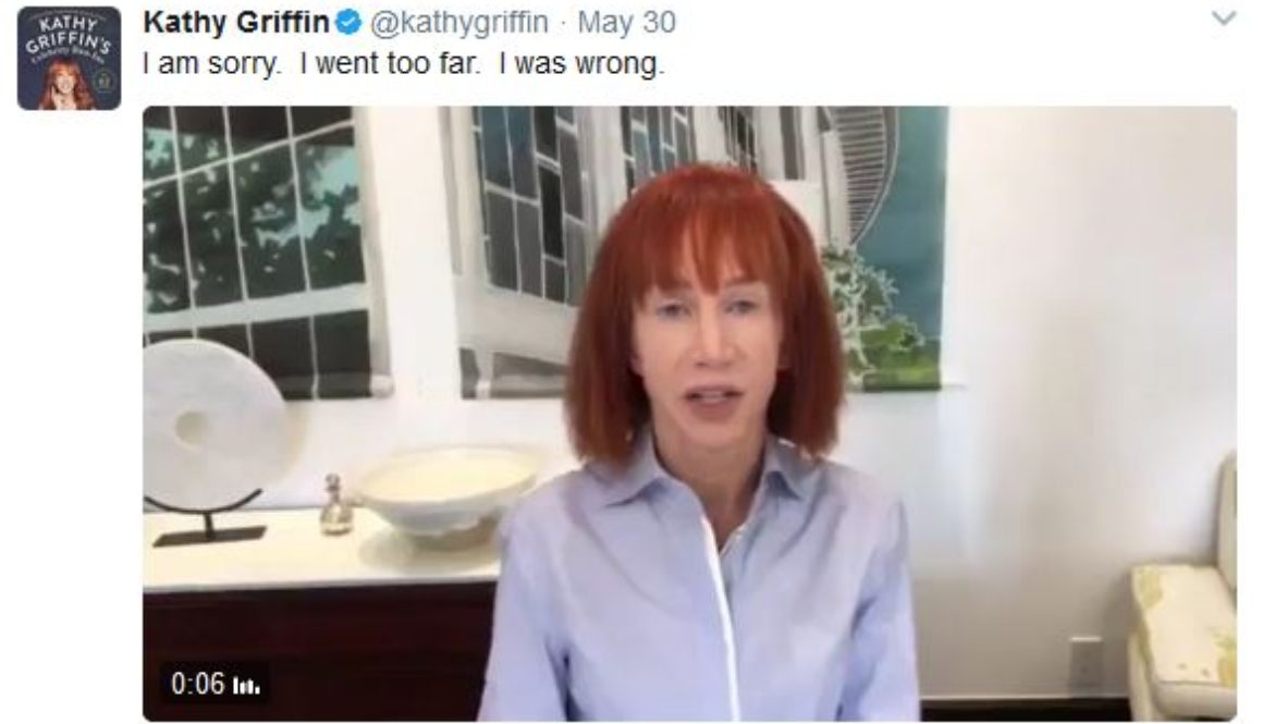Kathy Griffin Bullied Donald Trump