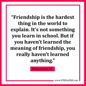 Inspirational Friendship Quote