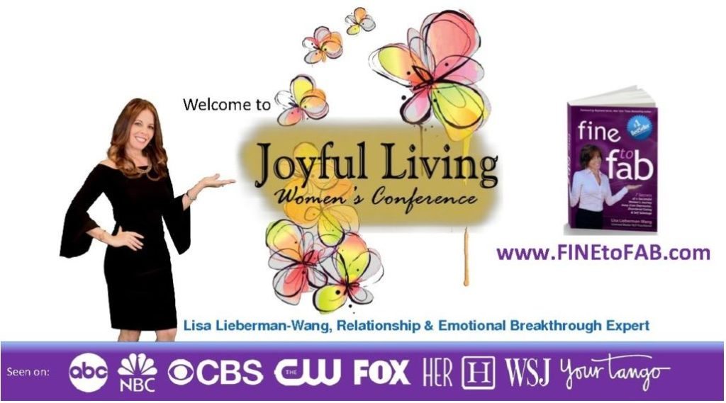 Download Lisa Lieberman-Wang's Presentation from Joyful Living Women's Conference here. Click the image above for the PDF.