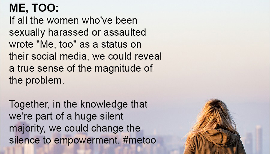 #MeToo Women Sexually Harassed and Assaulted on Facebook